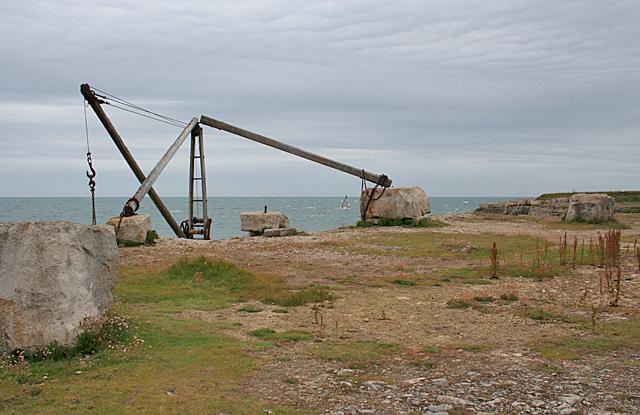 Old Quarry Crane