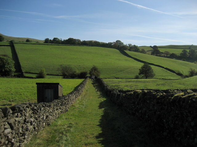 Green Lane near Elfhowe