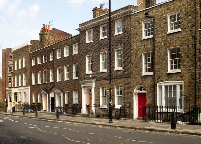 Housing terrace, Highgate
