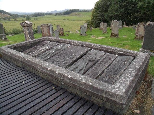 Early Christian slabs, Kilmartin