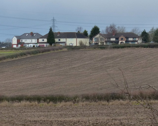 Houses at Potters Marston