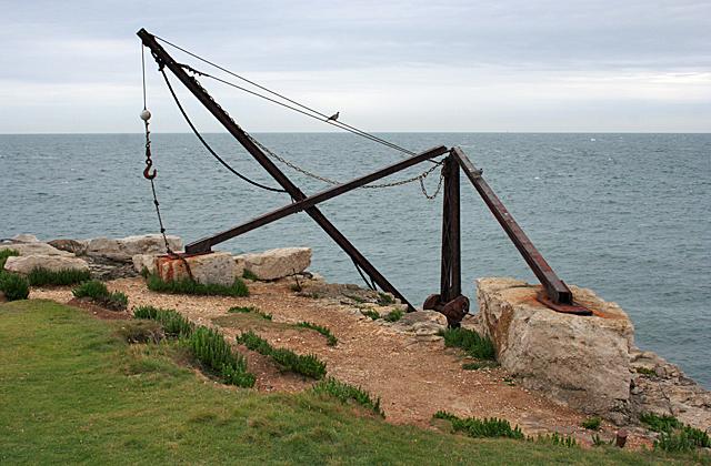 Disused Quarry Crane