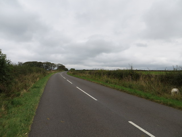 Road (B723) from Annan to Locherbie
