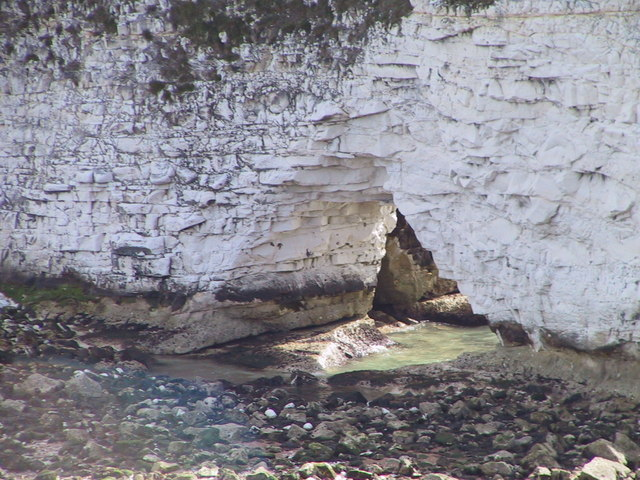 Natural arch, Old Harry Rocks