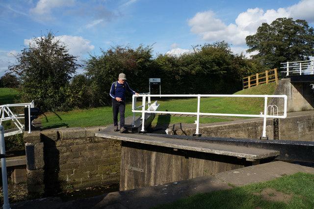 Lock Gates at Milby Lock, Boroughbridge