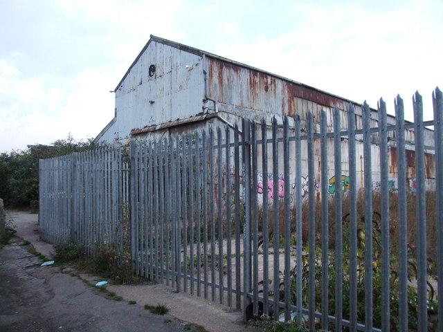 Derelict Factory, Albion Parade, Gravesend