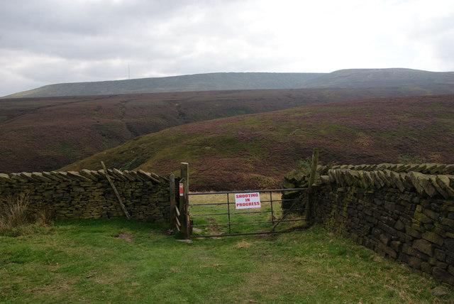 Path into Marsden Clough