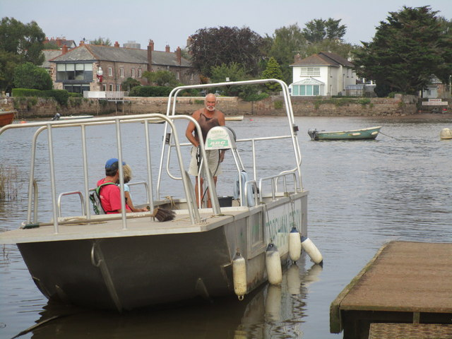The ferry to Topsham
