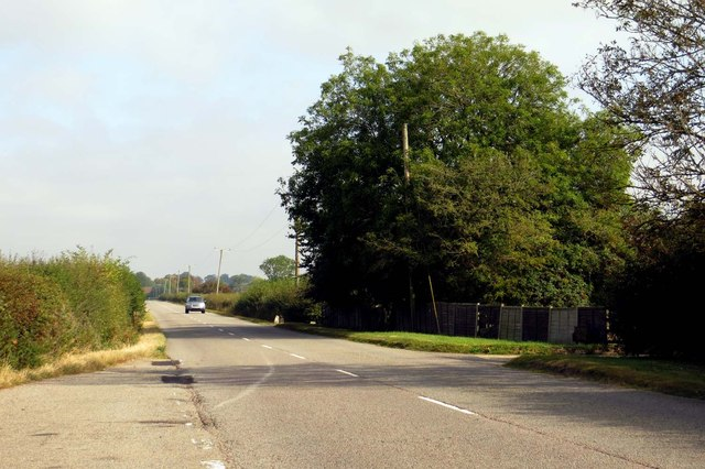 The road to Grendon Underwood