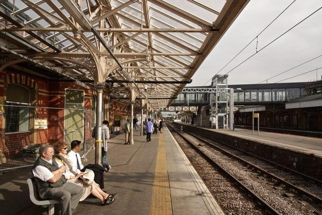 At Altrincham Station 6