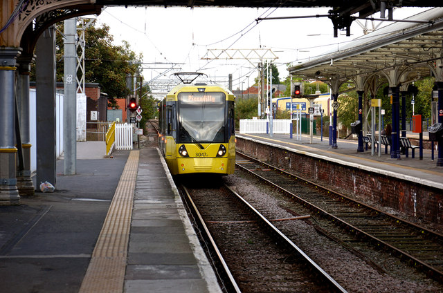 At Altrincham Station 7