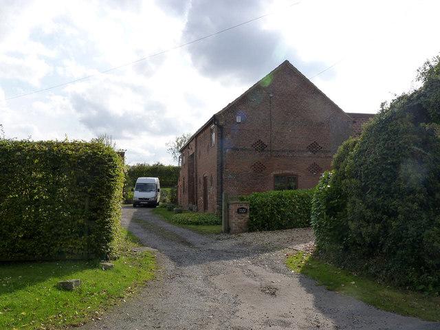 Converted barn at Church Hill Farm
