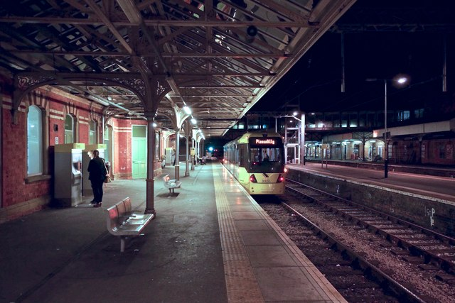 At Altrincham Station 10