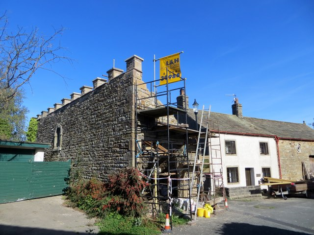 Construction work in Wray
