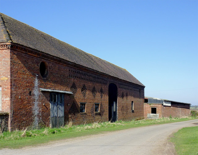 Old barn at Catstree, Shropshire