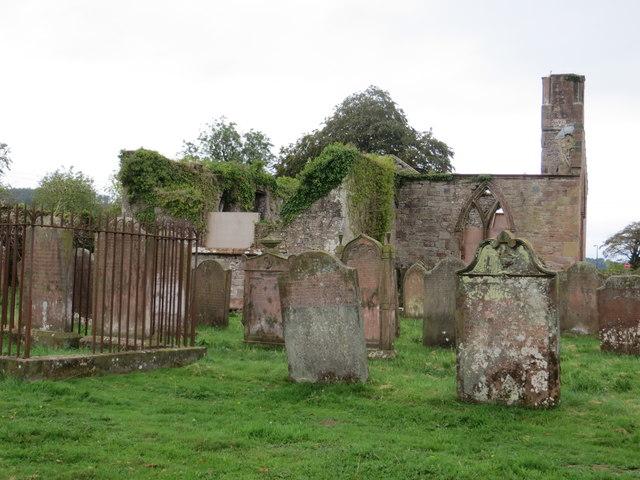 The Ruins of Hoddom Cross Church