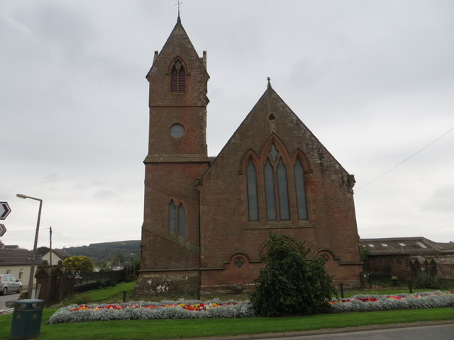 The former Church of St Fechan at Ecclefechan