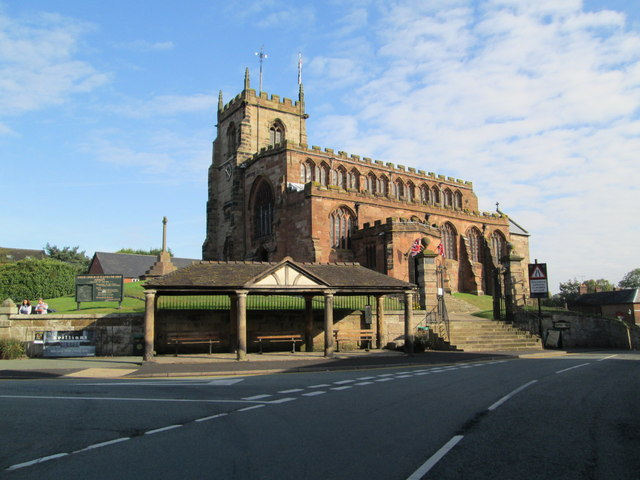 Butter Market and St James' Church, Audlem