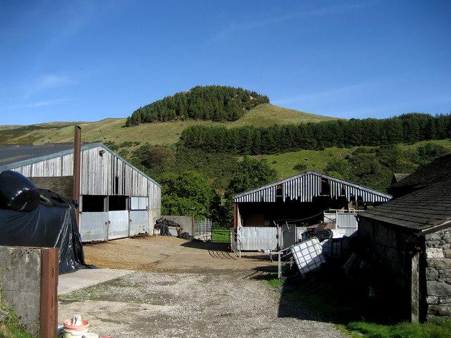Murthwaite Knott from Nether House Farm