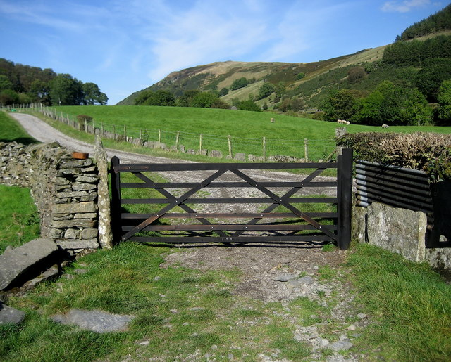 Bridleway leading to Nether House Farm