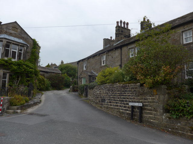 Looking from Chapel Street into Intake Lane