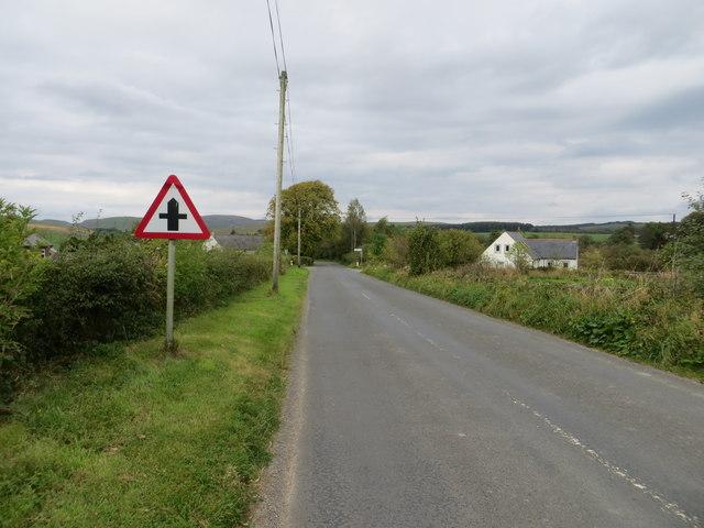 Cross Roads Ahead in West Linnbridgeford