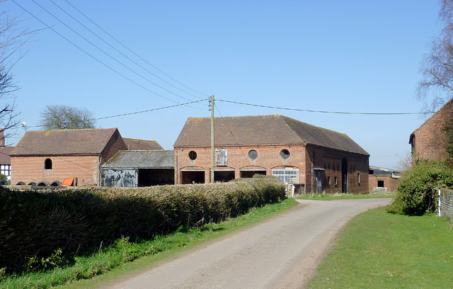 The lane at Catstree, Shropshire