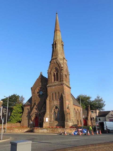Holy Trinity Church at Lockerbie