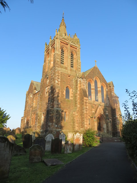 Dryfesdale Parish Church at Lockerbie