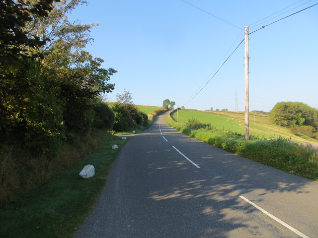 Road (B7068) at Cleuchhead