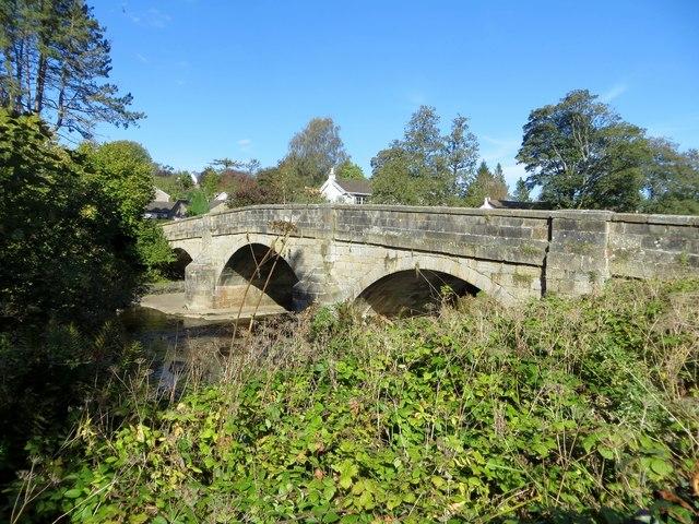 Bridge over the Greta