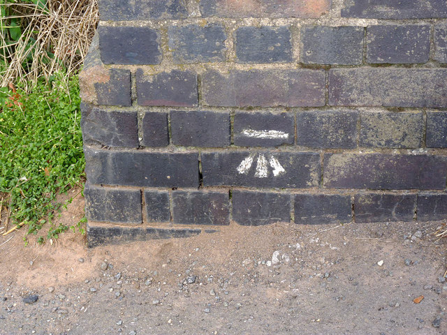 Bench mark, Station Road bridge