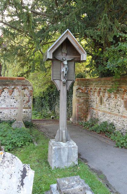 St Martin, East Horsley - War Memorial WWI