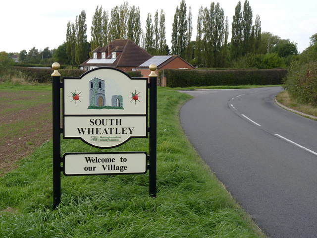 South Wheatley village sign