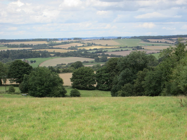 Downs view from near to Fosbury Farm