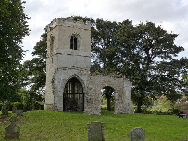 Remains of St Helen's Church, South Wheatley