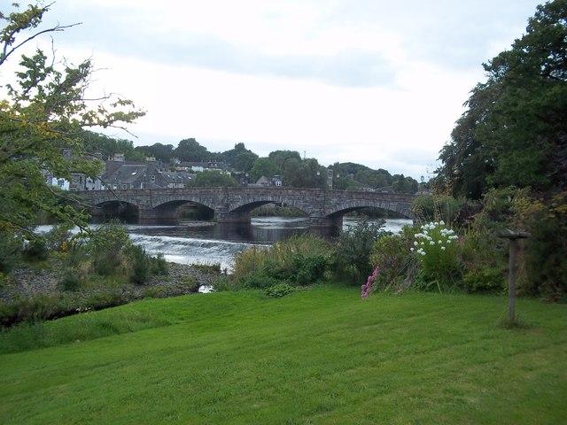 The bridge in Newton Stewart