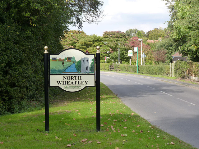 North Wheatley village sign