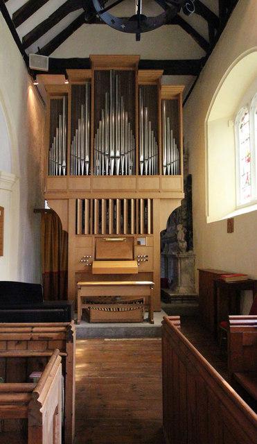 St Mary West Horsley - Organ