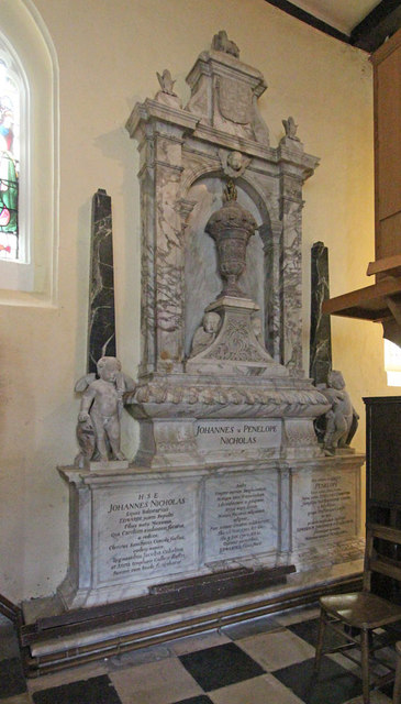 St Mary West Horsley - Monument