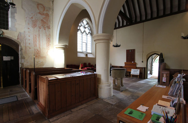 St Mary West Horsley - Interior