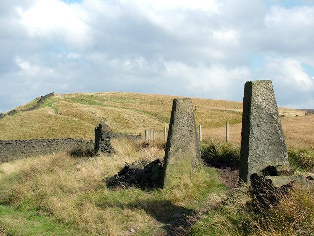 Stone Gateposts