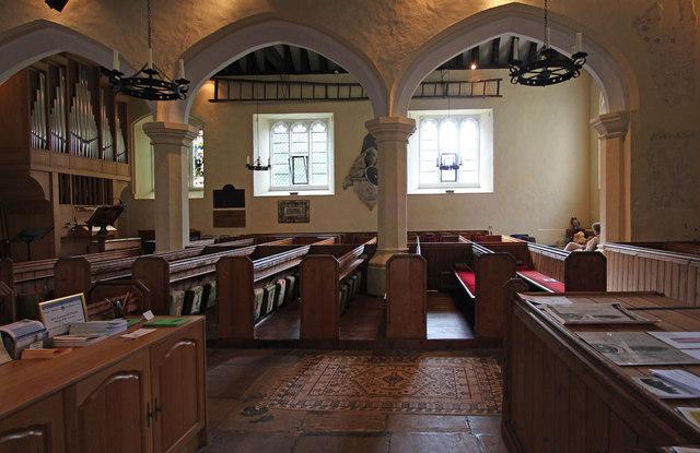 St Mary West Horsley - South arcade