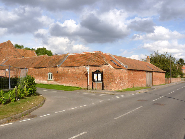 Farm buildings on Low Street