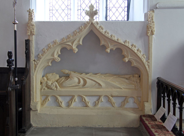 St Mary West Horsley - Recessed tomb