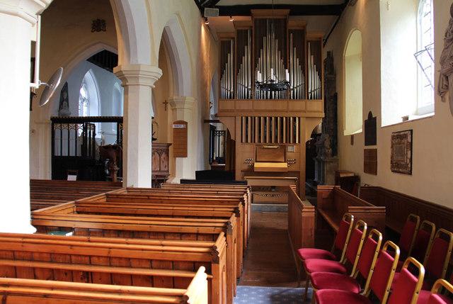 St Mary West Horsley - South aisle