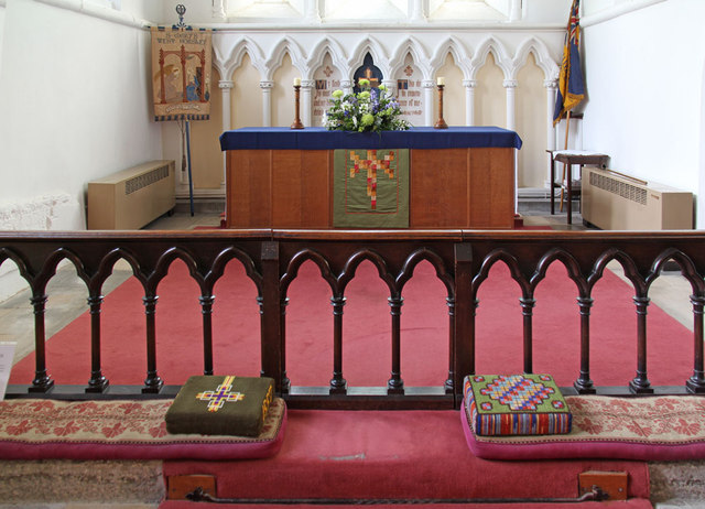 St Mary West Horsley - Chancel