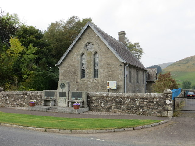Westerkirk Library viewed from the Road (B709)