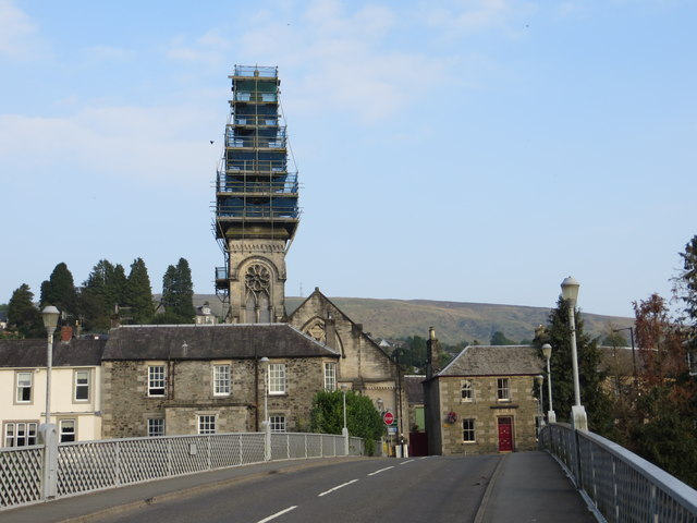 Townhead Erskine Church, Langholm Under Repair