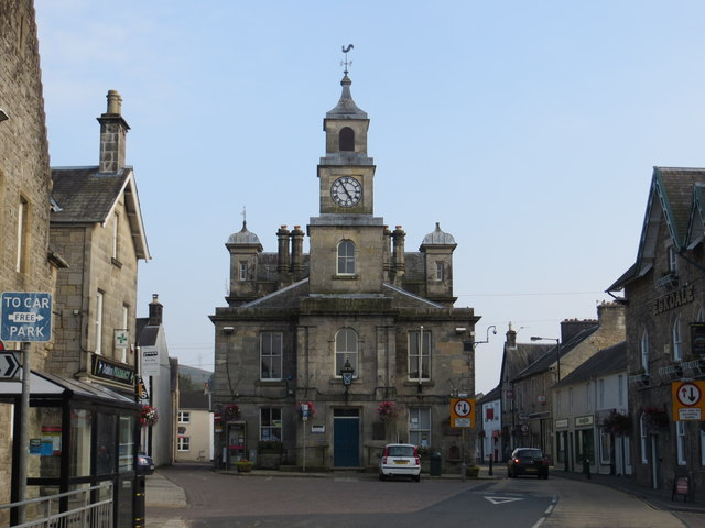 The Town Hall, Langholm
